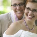 white couple wedding